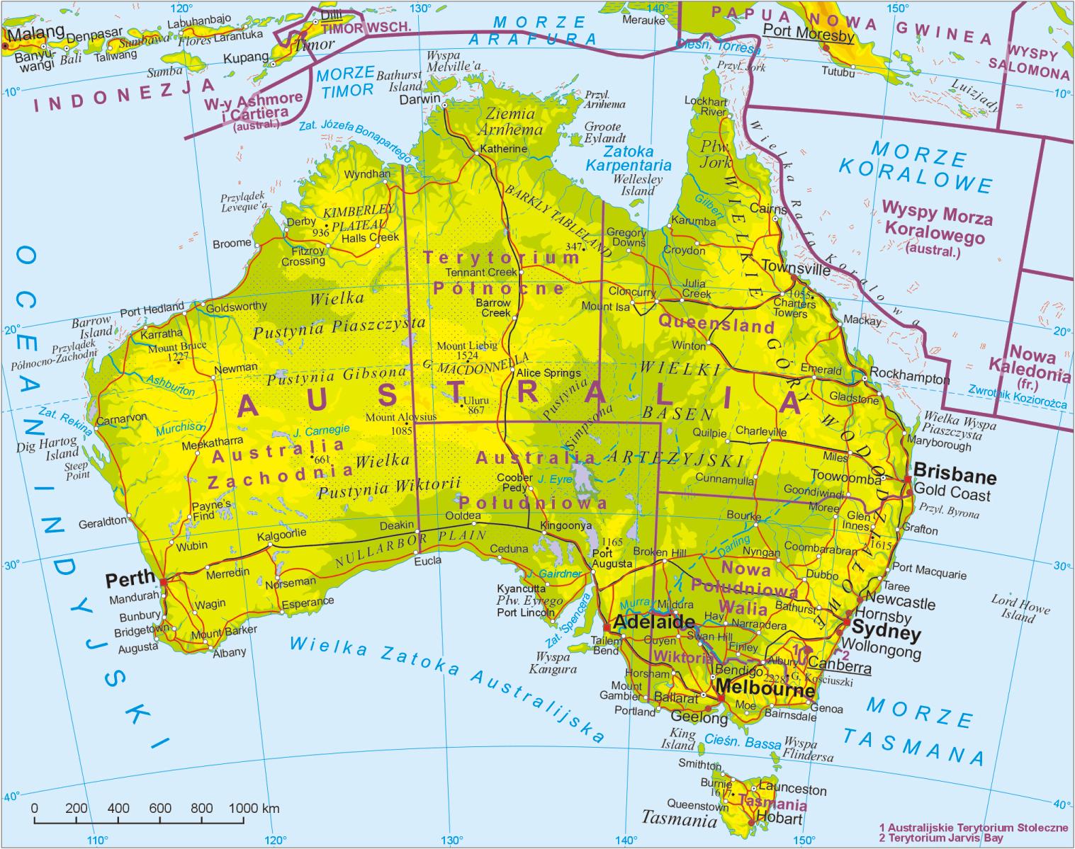 Australia Worldmap Pl