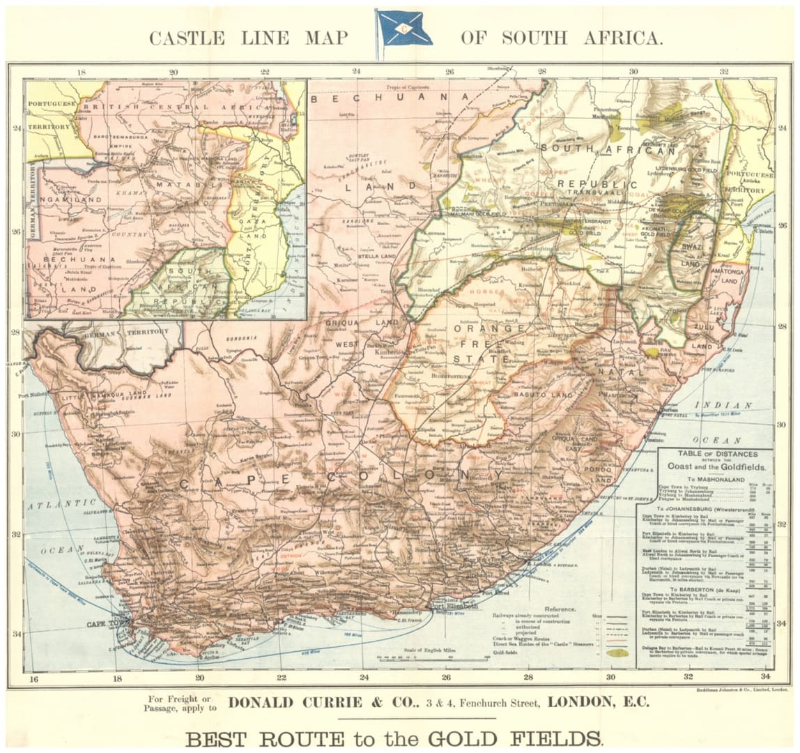 Mapa drogowa RPA