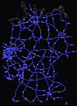 Mapa drogowa Niemiec