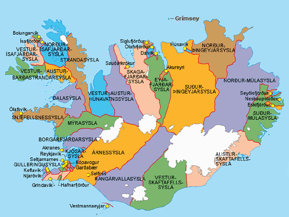 mapa islandii islandia mapa samochodowa topograficzna i inne. Black Bedroom Furniture Sets. Home Design Ideas