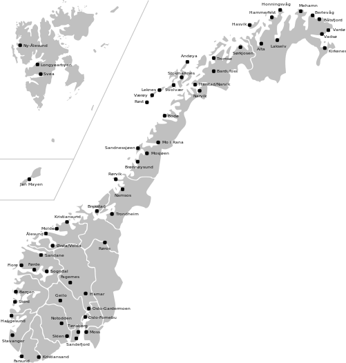 World Map Outline Png Mapa Norwegii - Norweg...