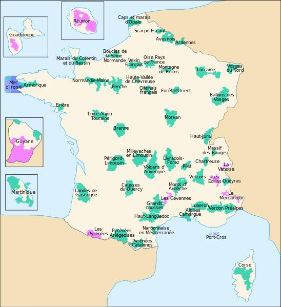 Parki Narodowe Francji
