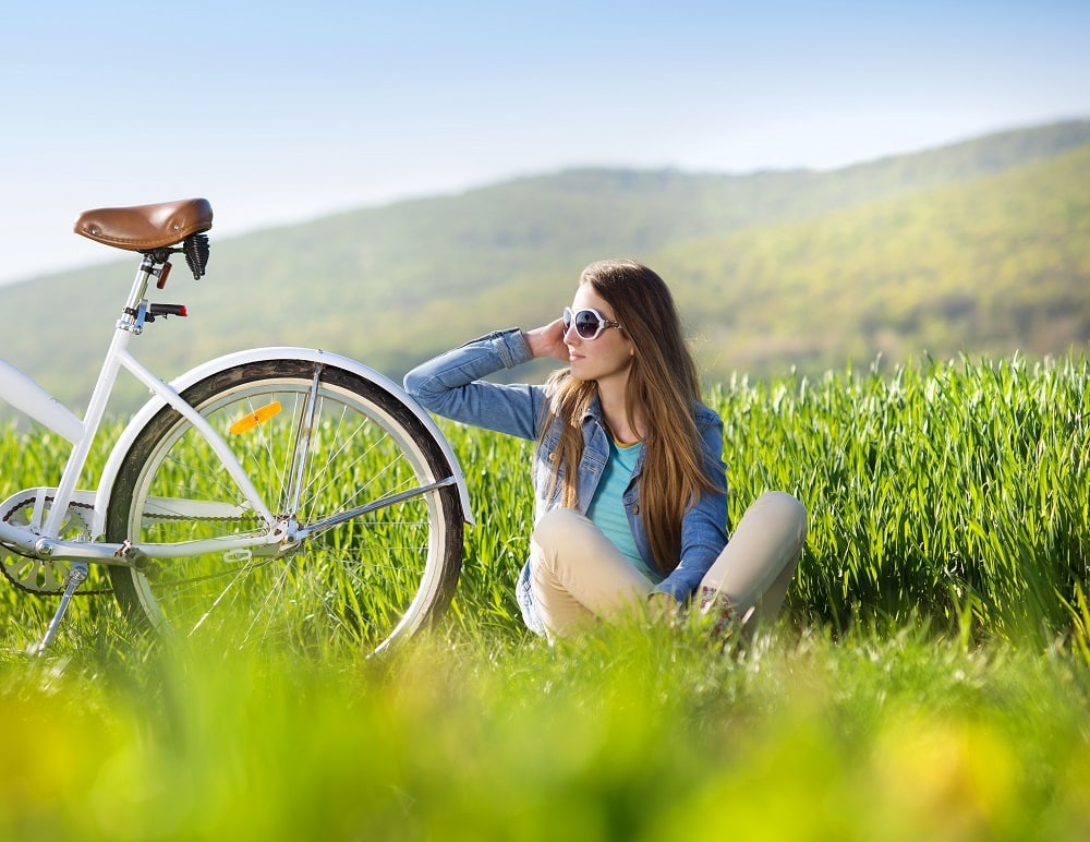 Przejażdzki rowerowe po górach