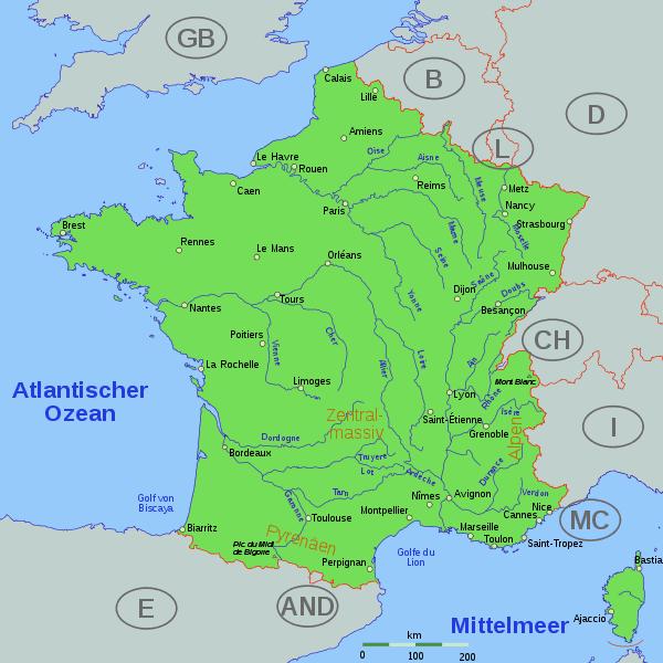 Rzeki Francji